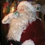Santa in St. Louis