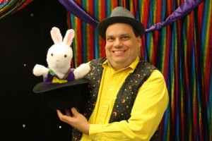 Child Care Center Magic Show - Rabbit in the Hat