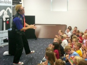 Author visit intrigues students