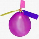 Balloon helicopter is flight ready