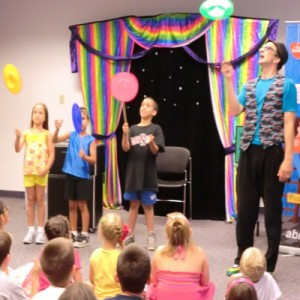 Summer Camp Programs - Circus show