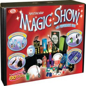 Top Hat Magic Show Kit with Hat & Table