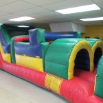 Circus Birthday Party-obstacle course at Abra-Kid-Abra