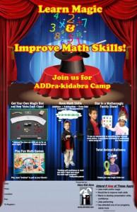 ADDra-Kidabra Camp Poster 11x17