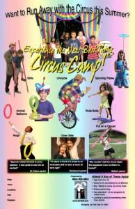 Circus Camp Poster 11x17