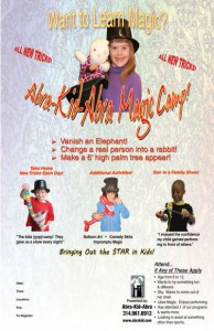 Magic Camp Poster 11x17