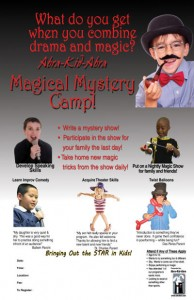 Magical Mystery Camp Poster 11x17