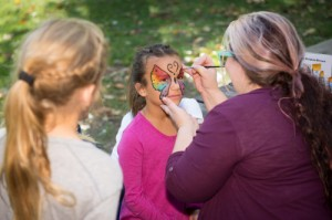 face painting. Picnic event planning St. Louis
