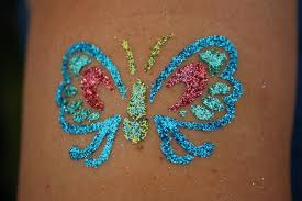 glitter-tattoo-butterfly